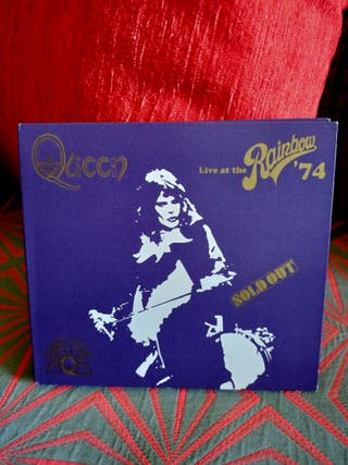2CD Queen Live at Rainbow