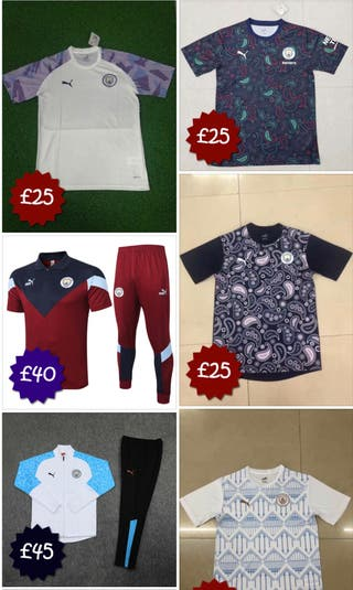 Football Top and tracksuits