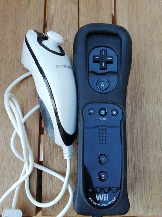 Mando Nintendo Wii y nunchuck