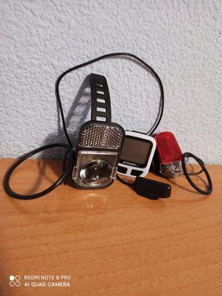 Kit Bicicleta (Luces, CuentaKilometros...)