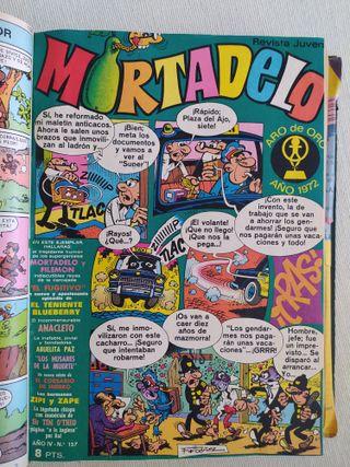 Tebeos (comics) antiguos encuadernados, años 70