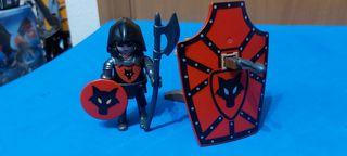 Playmobil Soldado del Lobo Negro con Ballesta