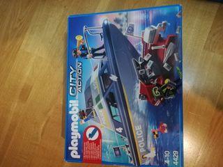 Lancha policía Playmobil