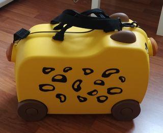 maleta viaje niño
