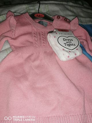 vestido bebé de 3 a 6 meses