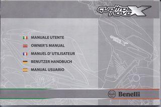 Manual usuario Benelli 49X