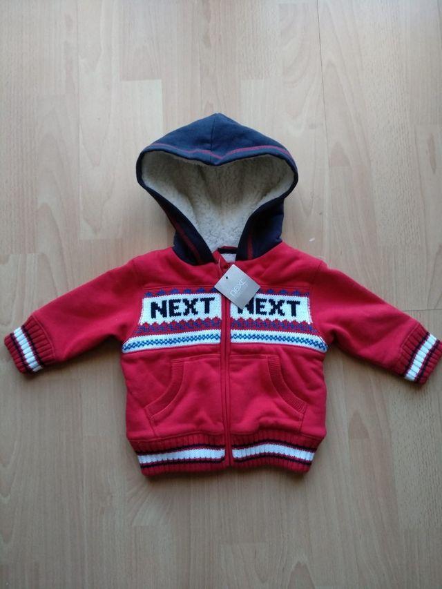 brand new Next Baby Boy Cardigan 6-9 months