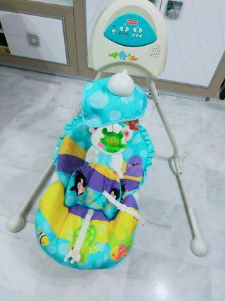 columpio bebé Fisher price