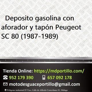 Deposito gasolina SC 80 con aforador y tapón