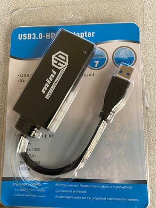 Cable usb 3.0 a HDMI