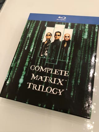 Trilogía MATRIX en Bluray