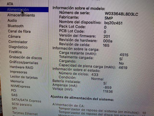 MacBook Pro touchbar 15 i9/32gb exposición
