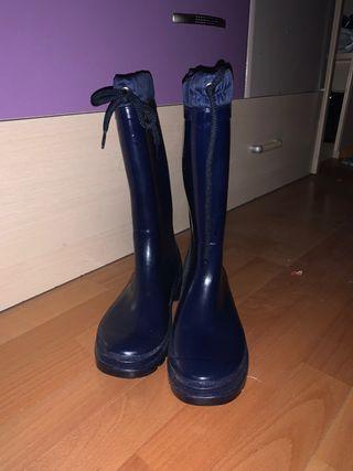 Botas de agua azul t40