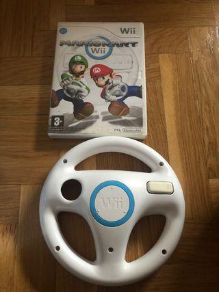 Mario kart con volante