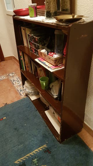 muebles de madera , estantería