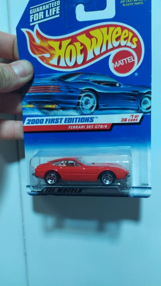 Hot wheels ferrari 365 gtb