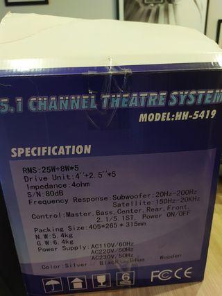 home cinema nexa modelo hh5419