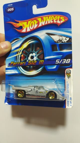 Hot wheels Ferrari 512M first edition