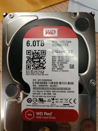 Disco duro interno 6 Tb