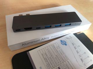 Adaptador 8 en 1 MacBook Pro / MacBook Air