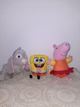 PACK 3 PELUCHES