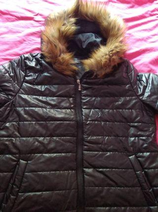 abrigo capucha t- XL