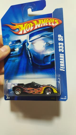 Hot wheels barqueta Ferrari 333 sp