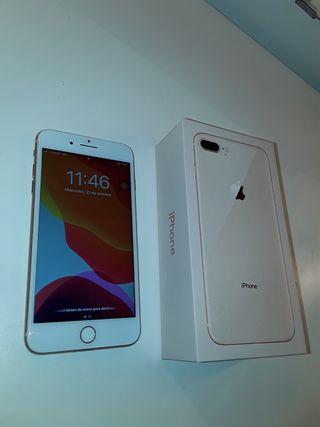 IPhone 8 Plus + fundas