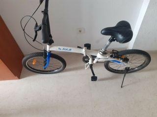 bicicleta plegable b fold