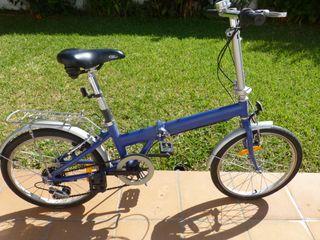 Bicicleta plegable con ruedas de 20 pulgadas