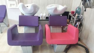 Lavacabezas doble peluqueria