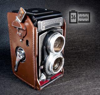 Rolleiflex K8 T2 + filtros y funda