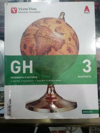 Libro Geografia e historia 3 ESO