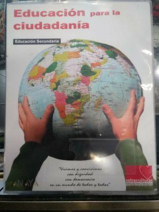 Libro Educación para la ciudadanía Secundaria