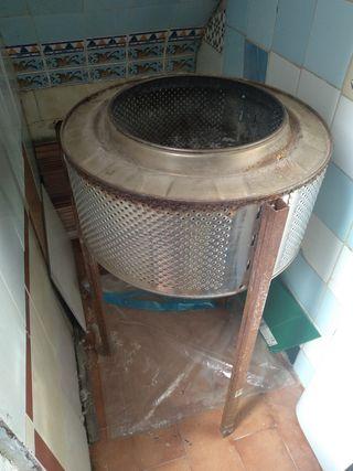 Barbacoa bombo lavadora