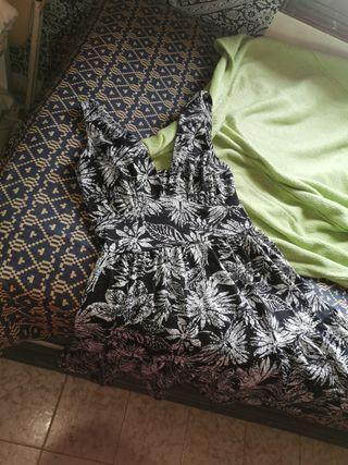 Vestido floral hippie