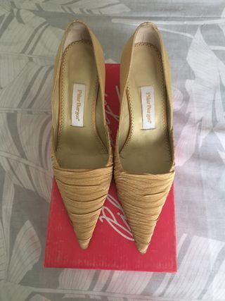 Zapato fiesta de Pilar Burgos