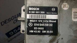 Centralita motor uce Mercedes Clase c berlina año