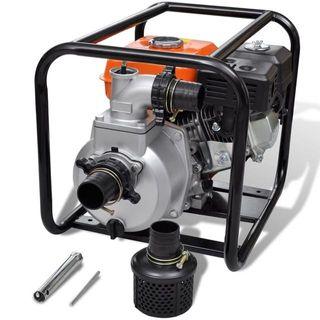 Motor de gasolina bomba de agua 80 mm conexión 6,5