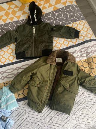 2 abrigos