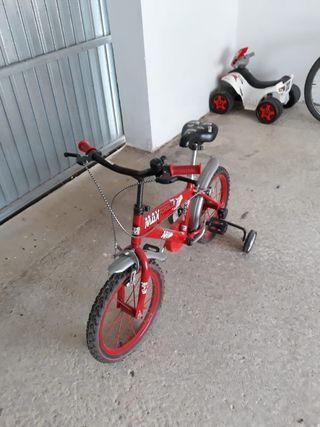 bici infantil ruedines
