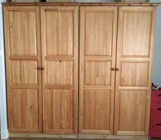 armarios madera