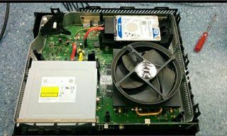 Limpieza Xbox/Portàtils. Cambio disco duro.