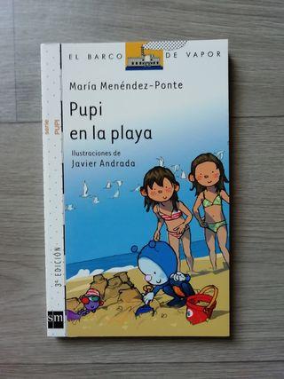 Libro Pupi en la playa