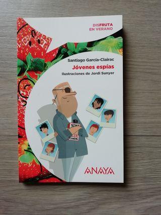 Libro Jóvenes Espías