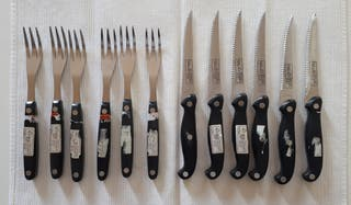 Set de cuchillos y tenedores Solingen