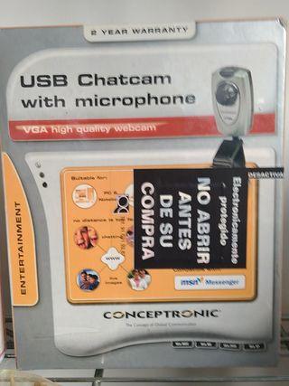 USB con microfono, Pc.