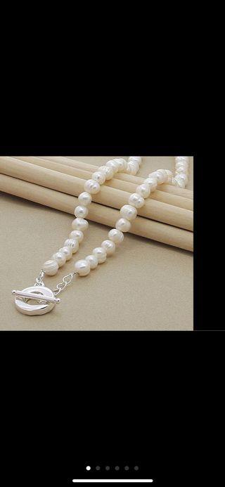 Gargantilla de Perlas barrocas