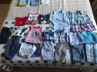 Lote ropa bebe primavera verano (6-12)