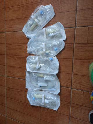 Sistema de infusión de Suero p/ Bomba (6 unds)